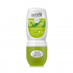 Jemný roll-on BIO Verbena BIO Limetka 50 ml Lavera