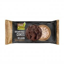 Rýžové chlebíčky s hořkou belgickou čokoládou Rice Up 90 g