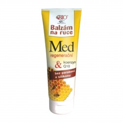 Regenerační balzám na ruce Medový + Koenzym + Q10 Bione Cosmetics 205 ml