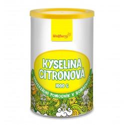 Kyselina citronová Wolfberry 1000 g