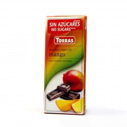 Hořká čokoláda s mangem Torras 75g