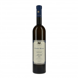 Pinot blanc víno (Rulandské bílé) pozdní sběr suché 2015 BIO 0,75l vinařství Marcinčák