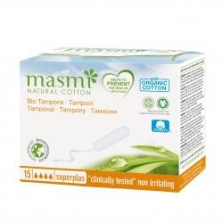 Tampóny z organické bavlny Super Plus Masmi