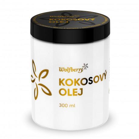 Panenský kokosový olej Wolfberry BIO 300 ml