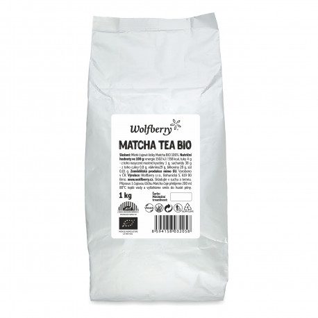 Matcha tea BIO 1000 g Wolfberry
