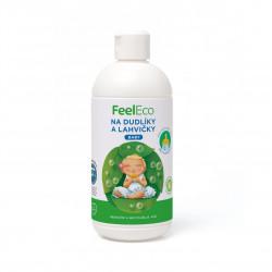 Prostředek na mytí dudlíků a lahviček Baby 500 ml Feel Eco