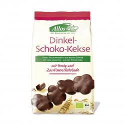 Špaldové sušenky s čokoládou BIO 125 g Allos