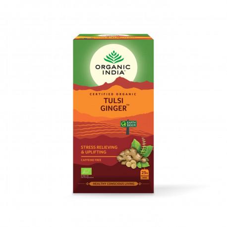 Tulsi Ginger Organic India BIO 25 sáčků