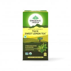 Tulsi sladký citron BIO 25 sáčků Organic India