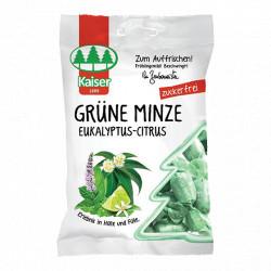 Máta + eukalyptus + citrus (Grune Minzen) 75g Topvet
