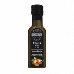 Olivovy olej s chilli 100ml Topvet