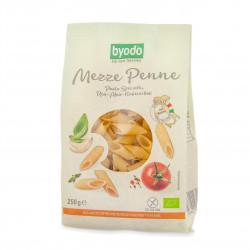Těstoviny - Bezlepkové penne - rýže, kukuřice, cizrna BIO 250 g Byodo