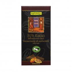 Čokoláda hořká 85 % Rapunzel BIO 80 g