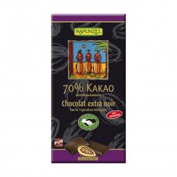 Čokoláda hořká 70 % Rapunzel BIO 80 g