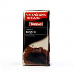 Hořká čokoláda 52% Torras 75g