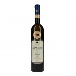 Pinot blanc víno (Rulandské bílé) suché 2015 BIO V.O.C. 0,75l vinařství Marcinčák