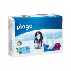 Jednorázové ekologické plenky pro děti 2-5 kg Pingo