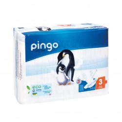 Jednorázové ekologické pleny pro děti 4-9 kg Pingo