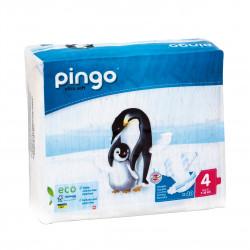 Jednorázové ekologické pleny pro děti 7-18 kg Pingo