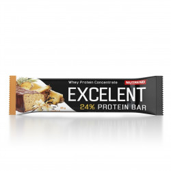 Tyčinka EXCELENT protein bar vanilka s ananasem 85 g Nutrend EXP 3.7.