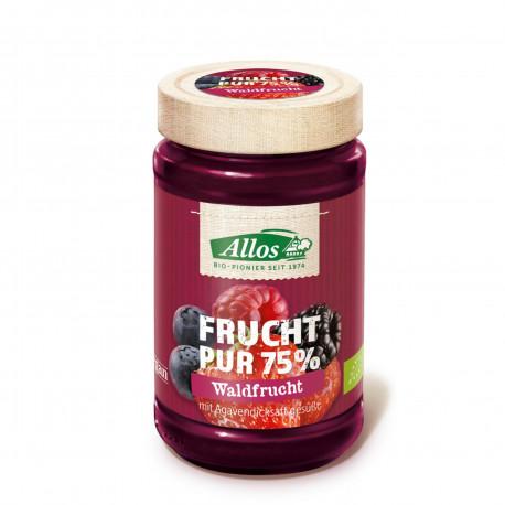 Džem lesní plody 75% BIO 250 g Allos EXP 17.7.