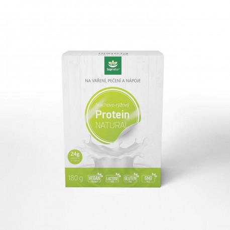 Protein hrachovo - rýžový 180 g Topnatur EXP 19.7.