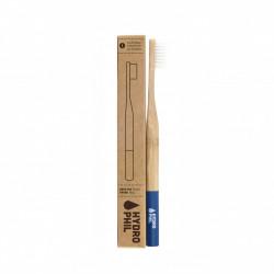 Bambusový zubní kartáček Soft - tmavě modrý Hydro Phil