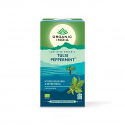 Tulsi s mátou Organic India BIO 25 sáčků