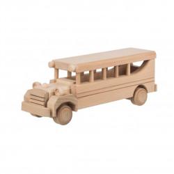Dřevěný autobus Čisté Dřevo