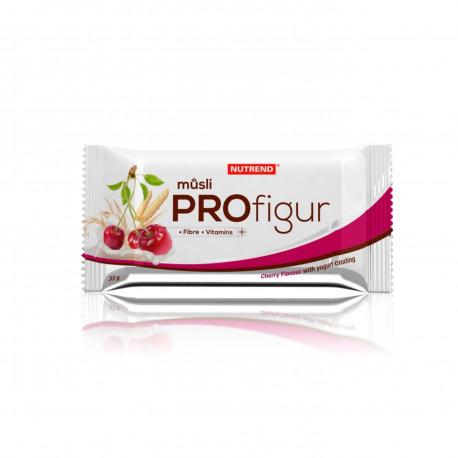 Tyčinka PROFIGUR MÜSLI višňová s jogurtovou polevou Nutrend 33 g EXP 29.10.