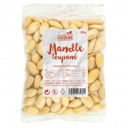 Mandle loupané Medium 250 g