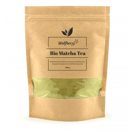 Matcha tea Wolfberry BIO 200 g