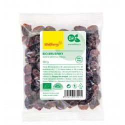 Brusinky slazené jablečnou šťávou BIO Wolfberry 100 g