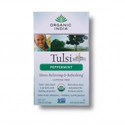 Tulsi s mátou Organic India BIO 18 sáčků