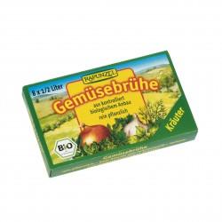 Zeleninový vývar bylinkový v kostce Rapunzel BIO 8 ks