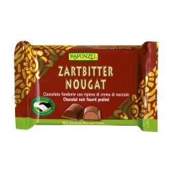 Čokoláda hořká s oříškovou náplní Rapunzel BIO 100 g