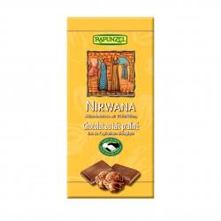 Čokoláda Nirwana mléčná Rapunzel BIO 100 g