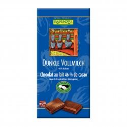 Čokoláda hořko mléčná Rapunzel BIO 100 g