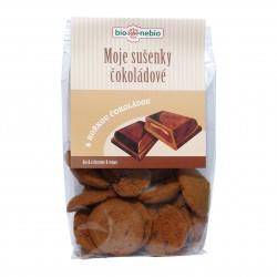 Moje sušenky čokoládové BioNebio BIO 130 g