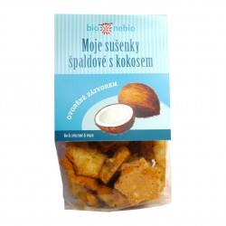 Moje sušenky špaldové s kokosem BioNebio BIO 130 g