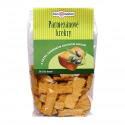 Parmezánové krekry s olivovým olejem BioNebio BIO 130 g