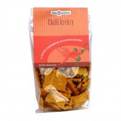 Chilli krekry s olivovým olejem BioNebio BIO 130 g