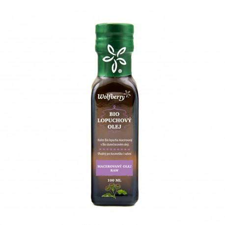 Lopuchový olej Wolfberry BIO 100 ml